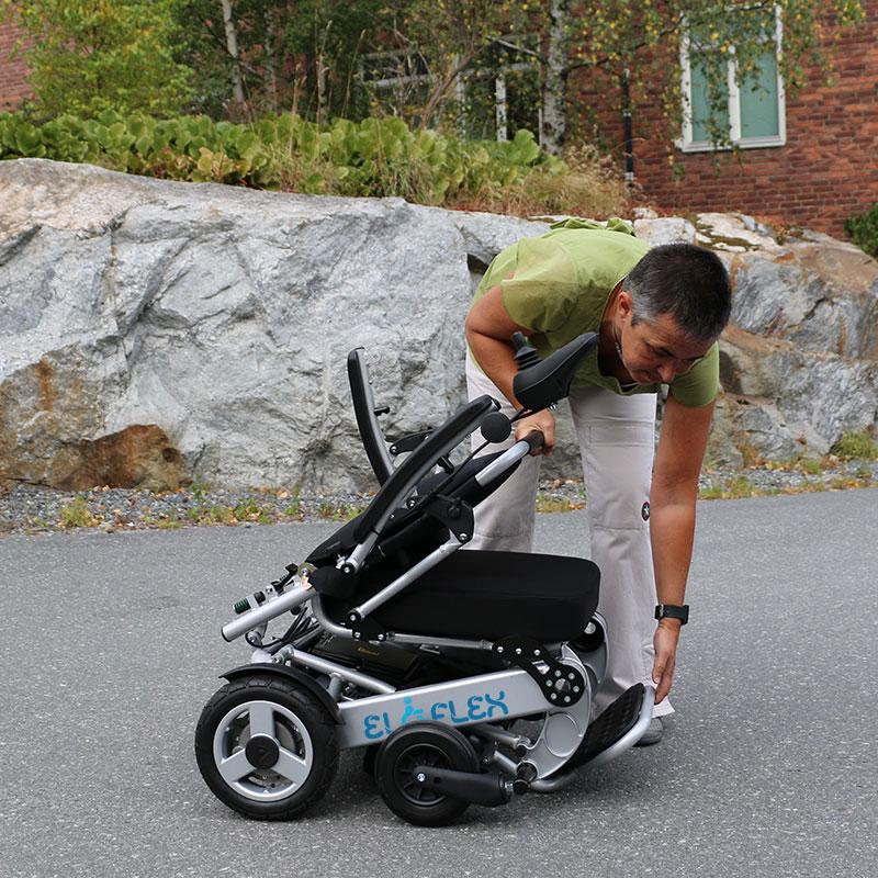 Letvægt, sammenklappelig, kompakt og smidig