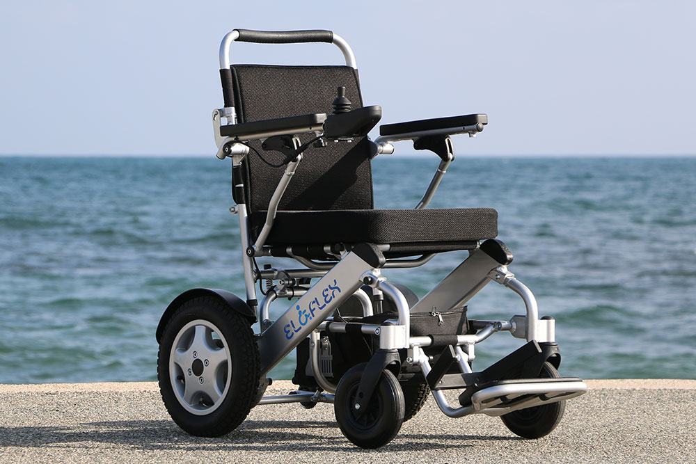Eloflex er en sammenklappelig letvægt el-kørestol